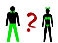 Ilustrační obrázek nějaké genderové situace.